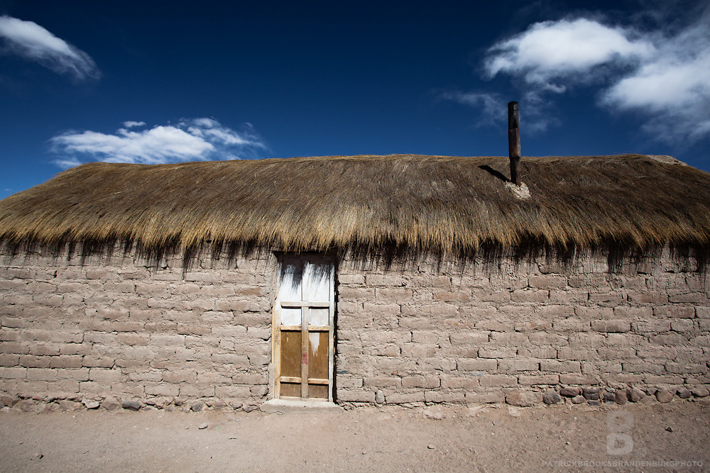 In southwest Bolivia near and in the Andes and in the Eduardo Avaroa Andean Fauna National Reserve are some of the small villages and stuctures still in use today.