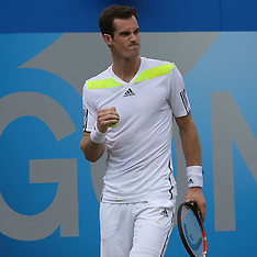 JUN 11 2014 Andy Murray at 2014 Aegon Championships