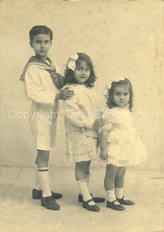 Three Children.<br /> Felsinger Collection.