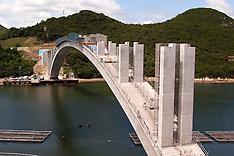 Kashirajima Bridge Construction
