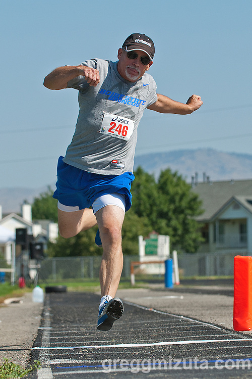 Idaho Senior Games at Timberline High School in Boise, Idaho on August 3, 2013.