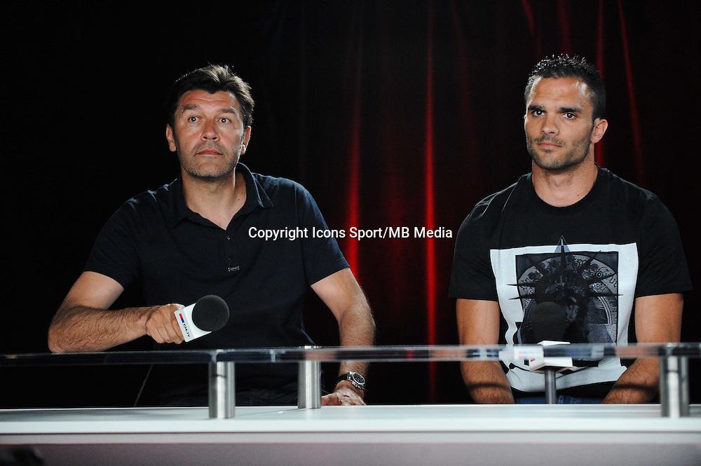 Hubert FOURNIER / Jeremy MOREL - 01.06.2015 - Presentation du nouveau joueur de Lyon<br />Photo : Jean Paul Thomas / Icon Sport