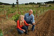 Steve & Carol Girard, proprietors, Benton-Lane Winery, Southern Willamette Valley, Oregon