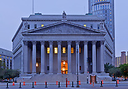 New York County Courthouse, NY State Supreme Court, designed by Guy Lowell,  at 60 Centre Street, Manhattan, New York City, New York, USA