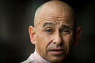 ELMONT NY - JUNE 11: Jockey, Mike Smith at Belmont Park on June 11, 2016 in Elmont, New York. (Photo by Alex Evers/Eclipse Sportswire/Getty Images)