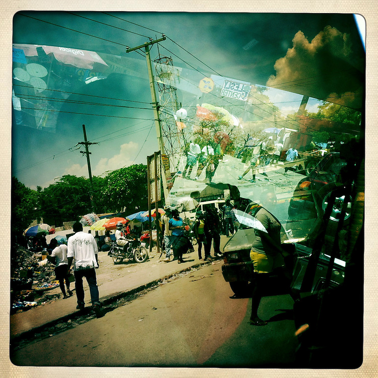 A street scene on Monday, April 2, 2012 in Port-au-Prince, Haiti.