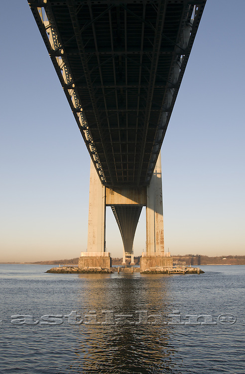Under Verrazano Narrows Bridge
