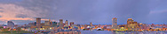Panoramic photograph of Baltimore, Maryland. Print Size (in inches): 15x3; 24x5; 36x7.5; 48x10; 60x12.5; 72x15