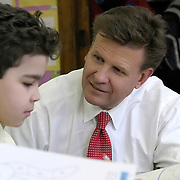 Corporate and Civic Leaders get involved in improving education for NYC school children.