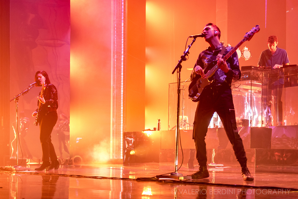 The XX at the London Brixton Academy on Saturday 11 Mar 2017 for their Night &amp; Day residency.<br />