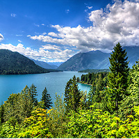 Lake Cushman, Olympic Forest, Washington