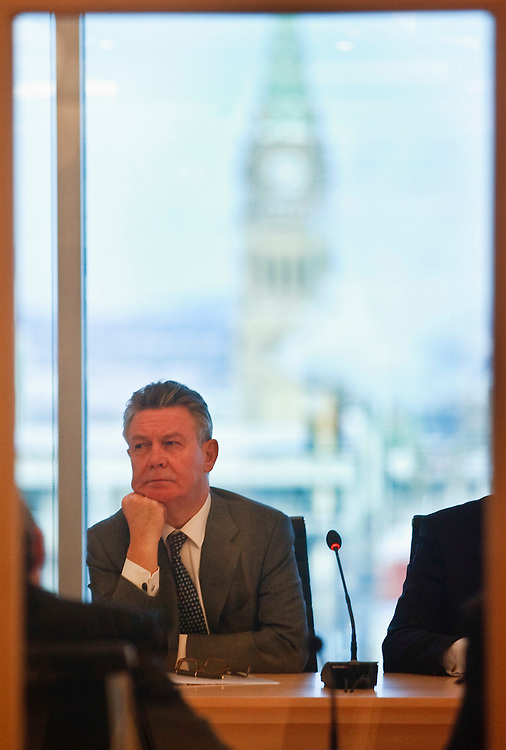 Karel De Gucht, European Commissioner for Trade meets with the Ambassadors of the European Union in Ottawa, Canada December 15, 2010.<br /> AFP/GEOFF ROBINS/STR