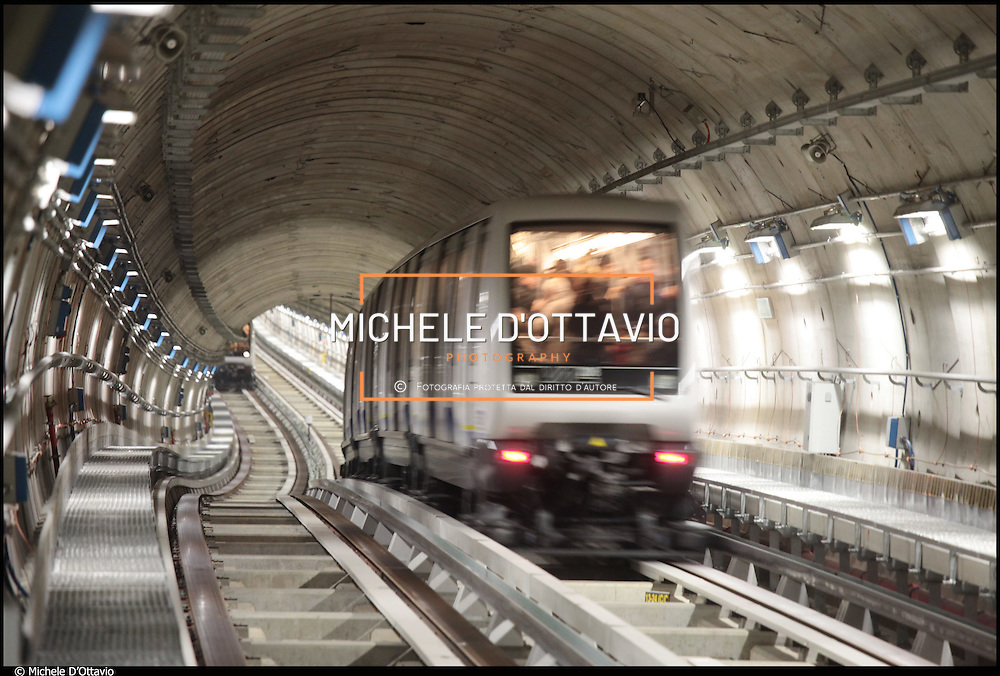 6 marzo 2011 la metropolitana arriva al Lingotto, inaurazione della nuova tratta.