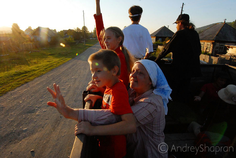 The Community of Vissarion in Siberia, Russia