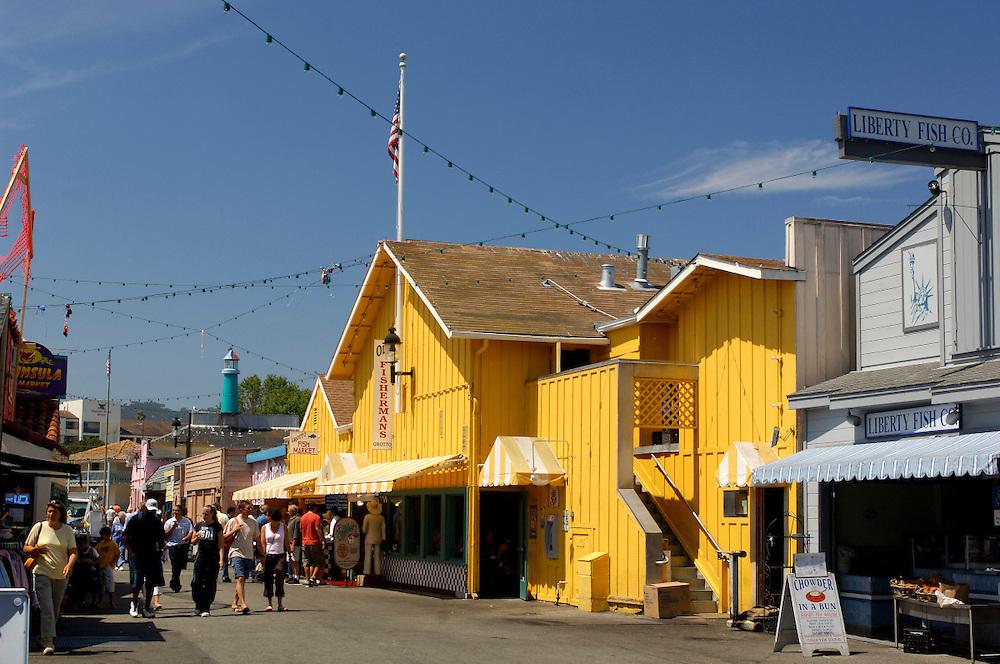 Fishermans Wharf, Monterey Bay, Monterey, California, United States of America