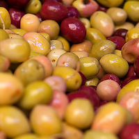 North Africa, Morocco, Fes. Moroccan olives.