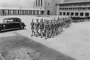 Assembly at Ordensburg Sonthofen, a Nazi Party Educational and Indoctrination Centre, Bavaria, c. 1938
