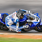 16 AUGUST 2009: AMA at Virginia international race way .Superbikes saw Josh Hayes sweep the weekend with wins both days. Tommy Haden was second on Sunday and Ben Bostrom got 3d. Mat Mladin  clinched a record-extending seventh AMA Pro National Guard American Superbike at VIR.4 Josh Hayes Yamaha Yamaha YZF-R1