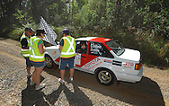 Ben Cullen & Mathew Cullen.Motorsport-Rally/2008 Coffs Coast Rally.Heat 1.Coffs Harbour, NSW.15th of November 2008.(C) Joel Strickland Photographics