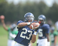 Ole Miss defensive back Anthony Standifer (23) at football practice in Oxford, Miss. on Sunday, August 4, 2013.
