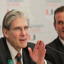 Dr. Julio Frenk Named UM's Sixth President - 4/13/15