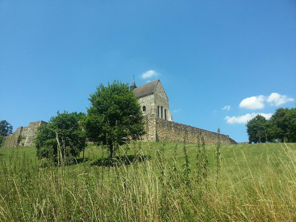 Medieval churches Burgundy France