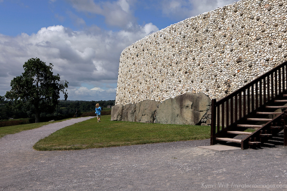 Europe; Ireland; Newgrange. Newgrange Passage Tomb, a UNESCO World Heritage Site.