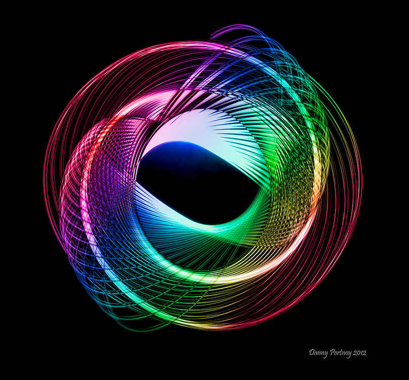Spiral Light Painting