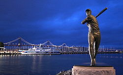 Willie McCovey statue, 2010 World Series Champion Giants