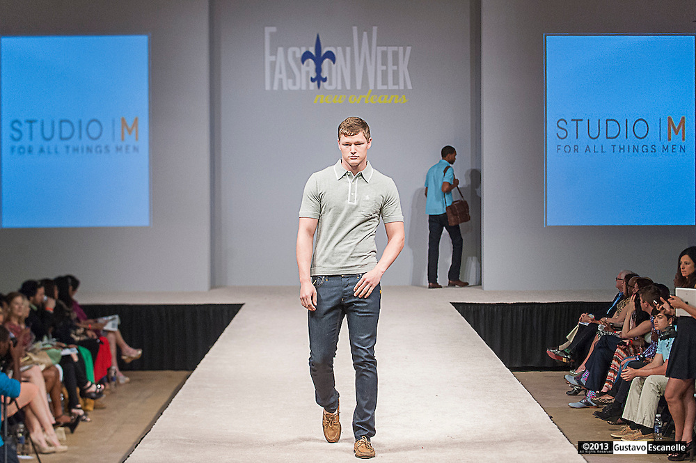 Studio | M for all things men showing their collection at Fashion Week New Orleans.