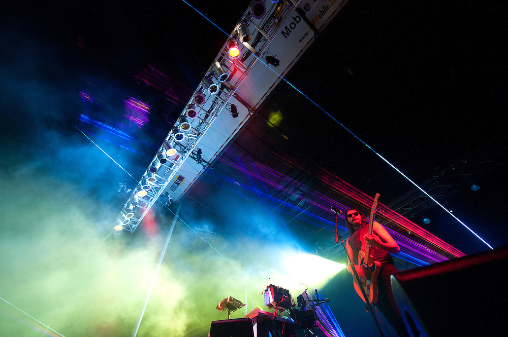 Ghostland Observatory plays the Main Stage.