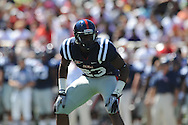 Ole Miss tight end Ferbia Allen (83) at Vaught-Hemingway Stadium in Oxford, Miss. on Saturday, September 4, 2010. (AP Photo/Oxford Eagle, Bruce Newman)