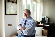 """Montenero di Bisaccia. Antonio Di Pietro, 63 years, leader of party """"Italia dei Valori"""" inside of your villa in Montenero di Bisaccia;"""