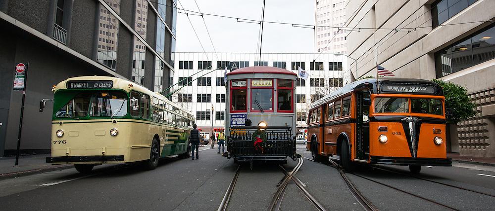 San Francisco's Muni Celebrates it's 100th Birthday   December 28, 1912 to 2012