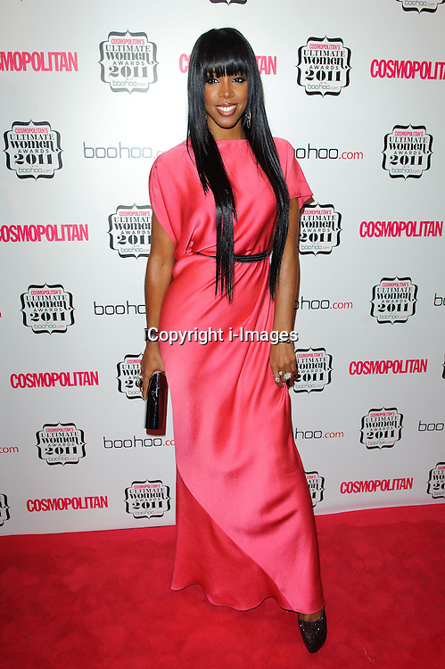 Kelly Rowland at Cosmopolitan's Ultimate Women Awards 2011 in London, Thursday, November 3rd 2011.  Photo by: i-Images