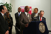 29 November 2010- New York, NY- Antoniao D. Martin, Senior Vice President, Kings County Center at the ' Stat! For NYC's Public Hospitals! ' Press Conference held at Kings County Hospital on November 29, 2010 in Brooklyn, NY. Photo Credit: Terrence Jennings