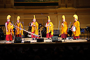 The monks of Drepung Monastery at the Twentieth Annual Tibet House Benefit Concert  at Carnegie Hall, New York City. February, 26, 2010. Copyright © 2010 Chris Owyoung. All Rights Reserved.