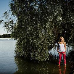 Lotta Sandholm ex. Idols participant.