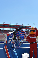 Helio Castroneves wins the pole, Auto Club Speedway, Fontana, CA USA 8/30/2014
