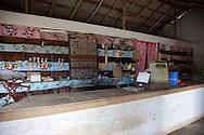 Shop interior in Tacajo, Holguin, Cuba.