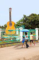 Filipinos are a very musical people, and Cebu is said to be the home of the best guitar craftsmen in the Philippines: good-quality guitars at incredibly affordable prices. The village of Abuno, Lapu Lapu City on Mactan Island, is the center of guitar making in the Philippines.