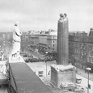 Destruction of Nelson's Pillar