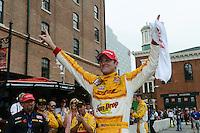 Ryan Hunter-Reay, Baltimore Grand Prix, Streets of Baltimore, Baltimore, MD 09/02/12