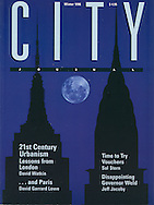 City Magazone Cover, Blackout