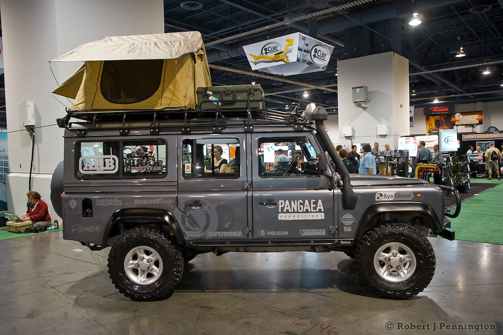 Pangaea Expeditions Low Impact Land Rover 110 Defender