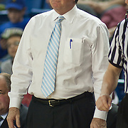 12/30/11 Newark DE: Temple Men's Head Coach Fran Dunphy coaching of the sidelines during a NCAA basketball game against Delaware Friday, Dec. 30, 2011 at the Bob carpenter center in Newark Delaware.<br /> <br /> Rahlir Jefferson-Hollis led the Owls with 13 points and eight rebounds, Anthony Lee added a career-high 12 points, seven rebounds, and three blocks, Juan Fernandez contributed 11 points, and Ramone Moore chipped in with 10 points and a game-high six assists.