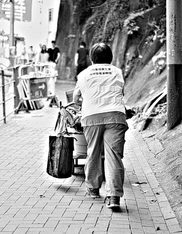 Garbage Collector by Purwi Indah Agustina Putri.<br />
