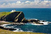 Rhu Stoer Lighthouse at Point of Stoer, Assynt-Coigach Scenic Area Scotland