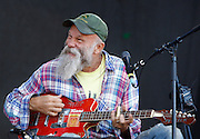 Seasick Steve performs live on the main stage during day two of the Isle of Wight Festival 2011 at Seaclose Park on June 11, 2011 in Newport, Isle of Wight.  (Photo by Simone Joyner)