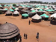 Gulu, Uganda, 2004. Pabbo Internally Displaced Persons camp, west of Gulu, is the largest IDP camp. People are relocated to these awful camps for security reasons.